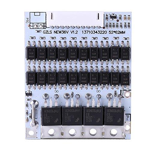 DC42-45V Eingang Batterie Schutzbrett mit Ausgleichfunktion BMS PCB Board für 10 Packs 36V Li-Ion Zelle Max 40A w/Balance