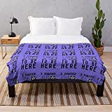Video Game I to SVG T Funny Teezily Paused Youth Here Be My Gamer I Game - Blankets Fleece - Sherpa - Woven Printed Lightweight Microfiber Bedding/Sofa Blanket- Customize