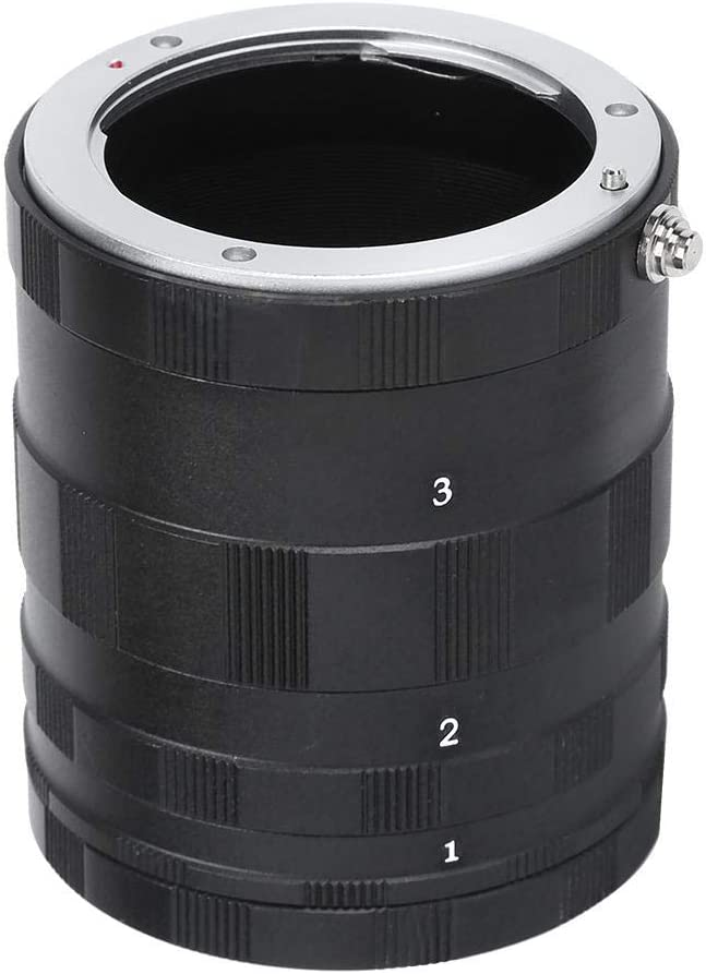 Macro Extension Outlet sale feature Tube Set Manual Lenses Reservation Focusing Close-up Adapte