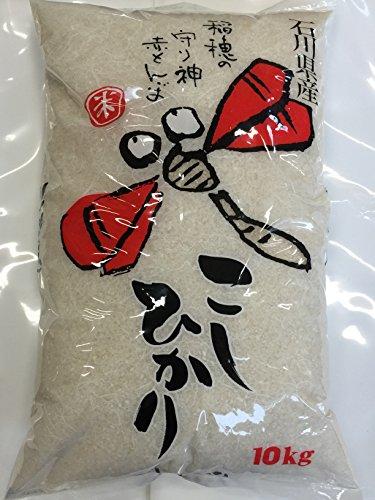 令和2年産 石川県産 加賀百万石 赤とんぼ こしひかり 玄米 10kg