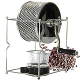BMGAINT コーヒー豆ロースター 小型コーヒー焙煎器 ステンレス手動 小型 手作り 100~300g 家庭用