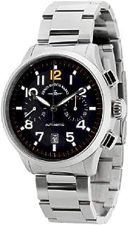 Zeno Watch Basel - Reloj para Hombre Analógico Automático con Brazalete de Cuero 6302BHD-a1