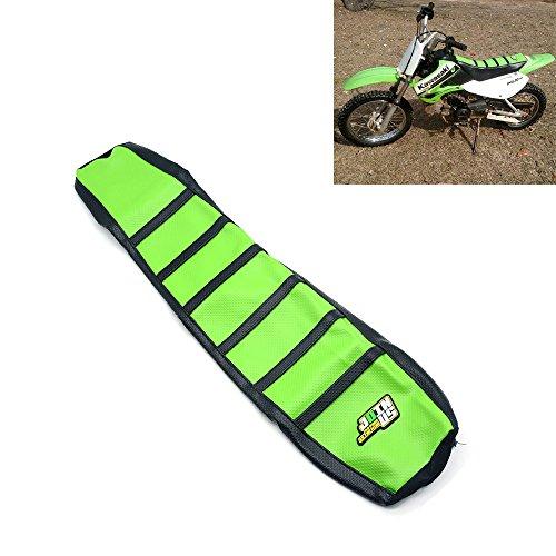 Gripper Soft Moto Couverture MX pour Kawasaki KX125 KX250 94-98 Vert/Noir