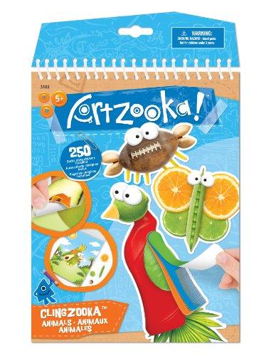Buki France - 3102 - Kit de Loisir Créatif - Artzooka - Animaux Clingzooka
