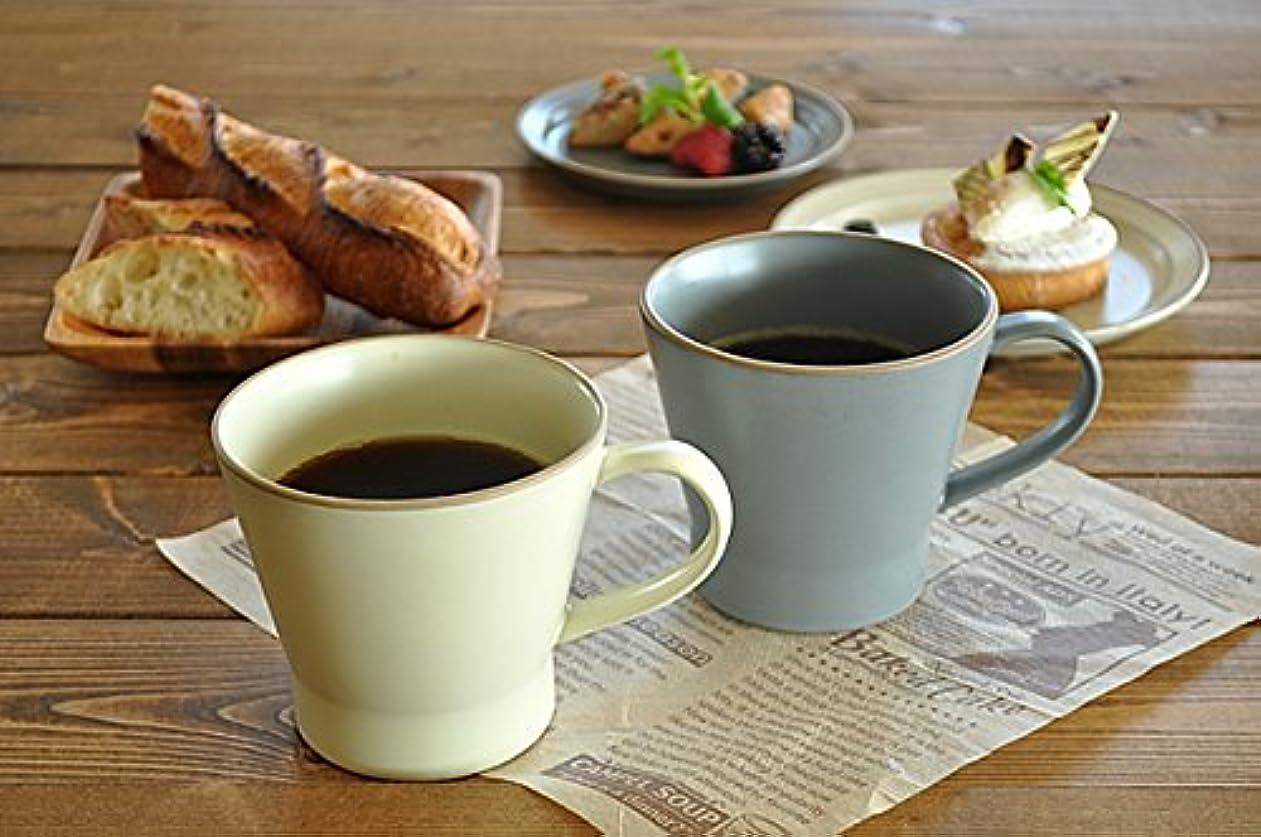 順応性のある誤解お願いします【M'home style】洋食器 エッジラインマグカップ (グレー)