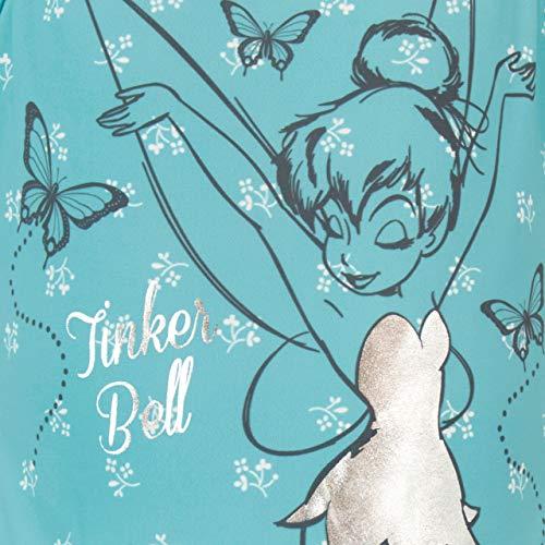 Disney Costume da Bagno per Ragazze Tinkerbell Blu 9-10 Anni
