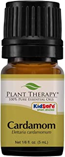 Plant Therapy Cardamom Essential Oil 5 mL (1/6 oz) 100% Pure, Undiluted, Therapeutic Grade