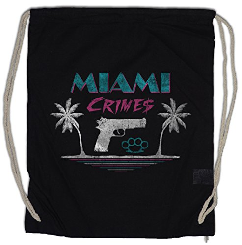 Urban Backwoods Miami Crimes Turnbeutel Sporttasche