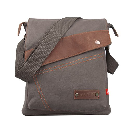 Genda 2Archer Canvas Sac d'épaule Casual Messenger Bag (Army Green)
