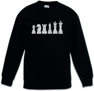 Urban Backwoods Chess II Sudadera Suéter para Niños Niñas Pullover