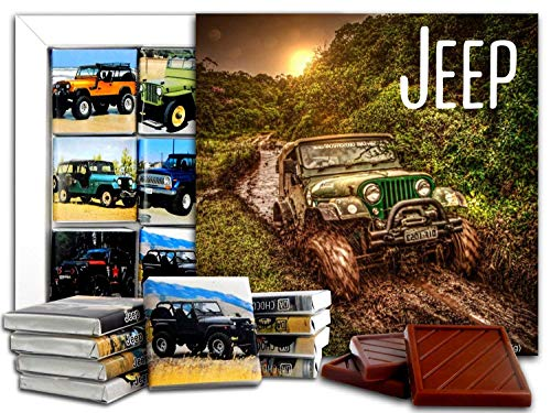 JEEP Chocolate Gift Set, 5x5in, 1 box (Mud Prime 0831)