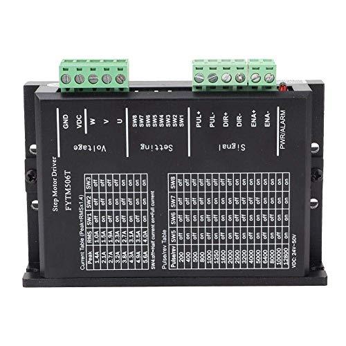 LHQ-HQ Paso a Paso del Conductor del Motor, DC 24~50V 2.2~8.3A / Fase 3 Fase de Motor Paso a Paso Drivers 200Kpps Nema 23/34 Controlador