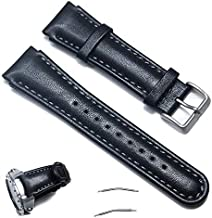 Octane Bands Suunto Xlander Watch Band – Genuine Leather Replacement Strap for Suunto X-Lander with Screw Tool and Spring Bar Pins