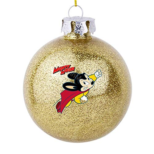 VinMea Christmas Decorations Balls for Tree - Mighty Mouse Logo1 - Unique Picture Design for Xmas Decor Gift