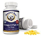 Benson's Best Omega-3 Fish Oil for Dogs - Provides 43% More Omega-3 Fatty Acids Than Salmon Oil! – 200 Softgels - 100% Pure, Non-GMO, Natural Pet Food Supplement – 1000 mg Capsules