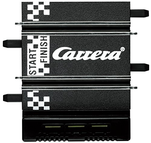 Carrera 61530 GO!!! Connecting Track Section for Transformer 61537 with One Plug Scale 1:43, Multi