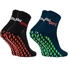 Rainbow Socks - Donna Uomo Neon Calze Sportive Antiscivolo