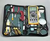 IGOSAIT Chic GJNH17 1 Set Electric Soldador de Hierro Soldadura Kit de Herramientas de Hierro de Soldadura 20 en 1 Agraciado