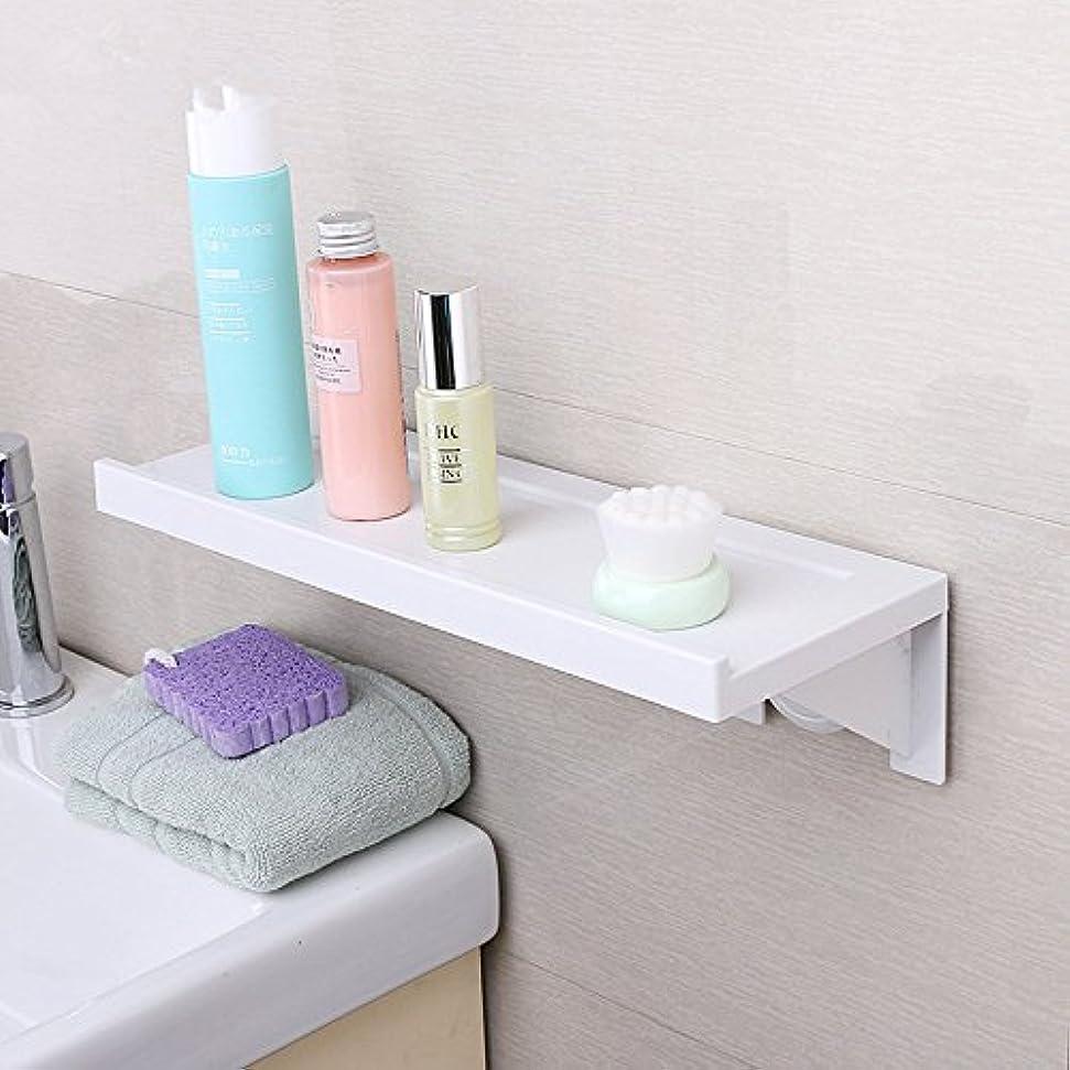毎回瞑想的木バスルームウォールラックバスルーム無料掘削棚トイレ棚ユニット棚棚 LUYIYI (Color : No trace installation)