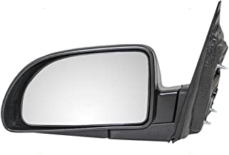 Drivers Power Side View Mirror Textured Replacement for Saturn Chevrolet Pontiac SUV 15873076 AutoAndArt