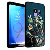 Galaxy S9+ Plus Case Nightmare Before Christmas, IMAGITOUCH Anti-Scratch Shock Proof Case Soft Touch Slim Fit Flexible TPU Case Bumper Cover for Galaxy S9 Plus -Nightmare Before Christmas Bumper