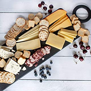 igourmet Say Cheese! Gift Basket - Box (2.48 pound) - Includes an assortmet of gourmet cheeses, crackers,as well as a set of our igourmet elegant cutting board and signature cheese serving knife