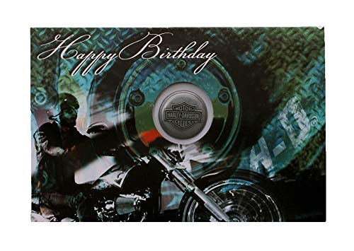 Harley-Davidson Green Engine Pin & Card Set