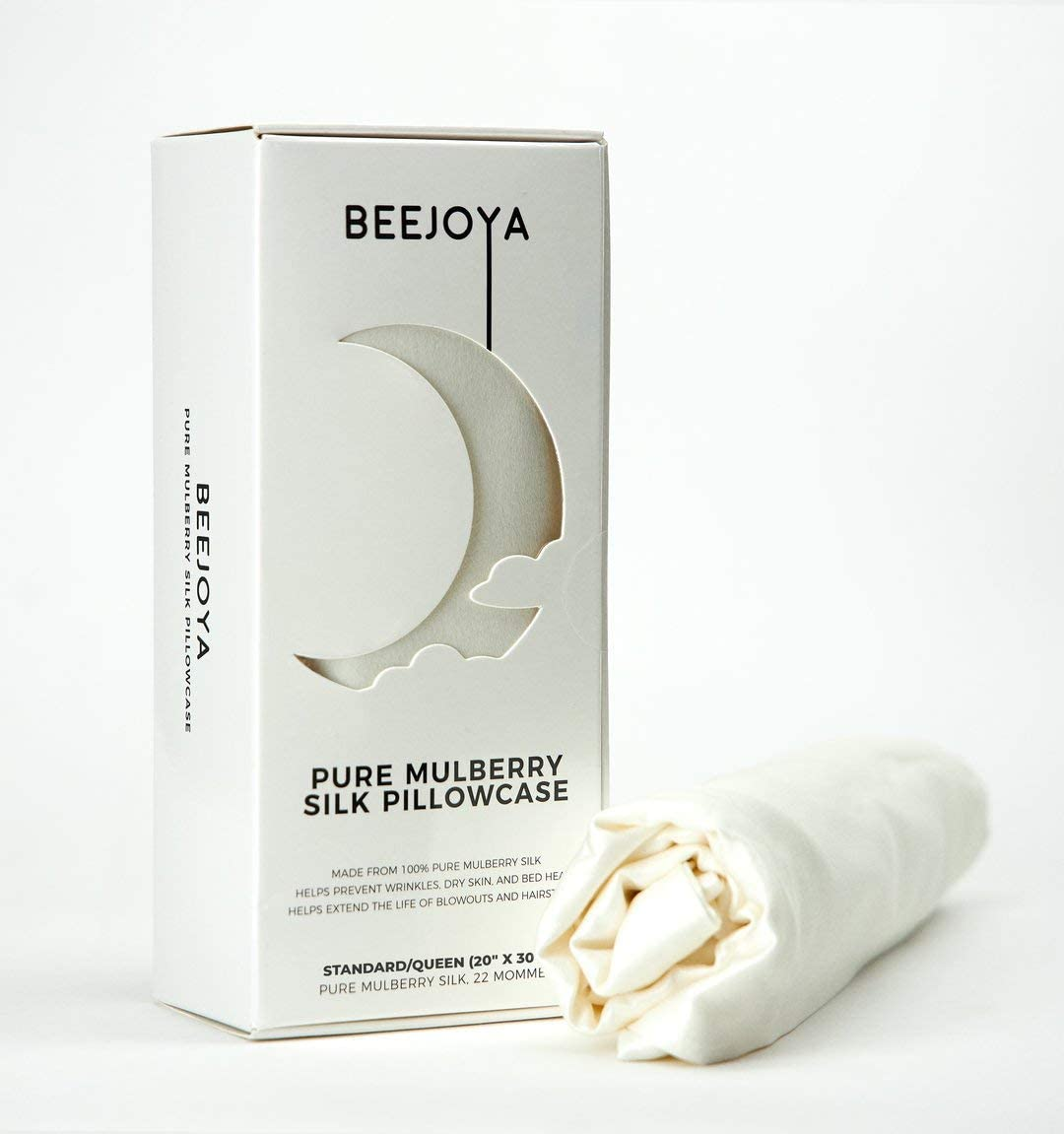 Don't miss the campaign BEEJOYA Natural Silk Pillowcase 22 100% Mulberry K Momme Complete Free Shipping