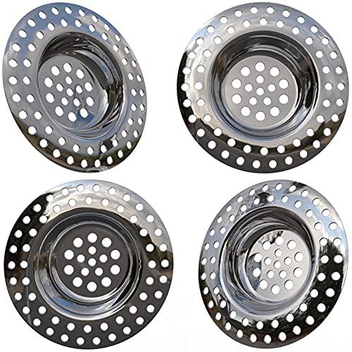 Kitchen Helpis® 14g filtro lavandino cucina, set di 4, filtro lavandino, filtro lavello cucina,...