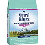Natural Balance L.I.D. Limited Ingredient Diets Small Breed Bites Dry Dog Food, Chicken & Sweet Potato Formula, 12 Pounds (Discontinued by Manufacturer)