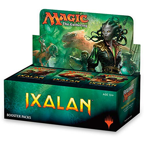 Magic The Gathering MTG-XLN-BD-EN Kartenspiel-Ixalan Booster Display, 36 Packung