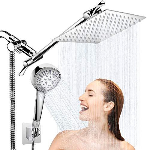 AULETIN Shower Head with Handheld-8'' Rain Shower...