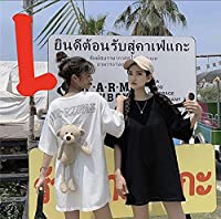 レディース くま 半袖 Tシャツ ぬいぐるみ 白 ホワイト オーバーサイズ 韓国