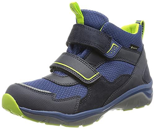 Superfit SPORT5 Sneaker, BLAU/GRÜN 8000, 34 EU