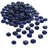 BELLE VOUS Piedras Decorativas Cristal Azul 2,25 kg Piedras Decorativas para Jarrones 18 mm - Piedras Colores Decoracion Bodas/Fiestas – Centros de Mesa y Decoración de Acuario
