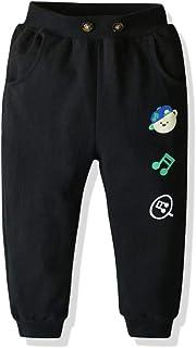 HOSD Cotton Boy 2019 Primavera y otoño nuevos Pantalones de Dinosaurio niños Pantalones Casuales de algodón
