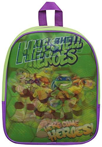 Ninja Turtles Tmnt scuola lenticolare zaino borsa Half Shell Heroes zaino