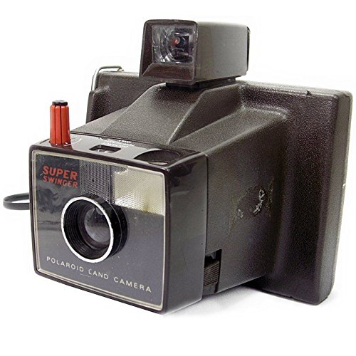 Fotocamera per istantanee Polaroid Super Swinger, stile Vintage anni  70 e  80