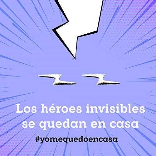 #YoMeQuedoEnCasa Pendientes rayo Plata de Ley