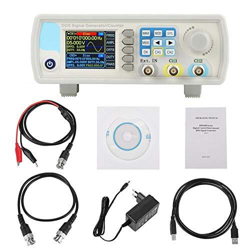 DDS-Generator , JDS6600 DDS-Signalgenerator-Zähler Digitale Steuerung Sinusfrequenz AC100-240V(EU 15HZ)