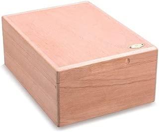 SLY Cigarette Case, Cedar Wood Cigar Box, Natural Cedar Wood Log Cigar Box, Unpainted Cigar Box.
