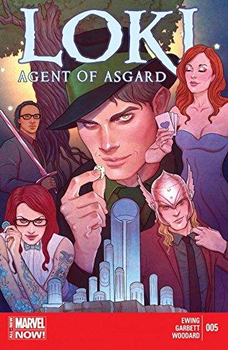 Loki: Agent of Asgard #5 (English Edition)