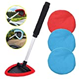 AutoEC Auto Car Windshield Cleaner, Extendable Handle Window Cleaner Brush Kit Comes