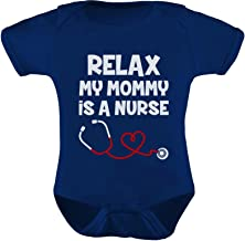 qidushop Enfermera Relax My MomS A Nurse Baby Bodysuit Camisa para reci/én Nacido beb/é ni/ñas ni/ños