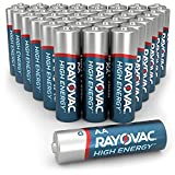 Rayovac High Energy AA Batteries Combo Pack (42 Count), Double A Alkaline Batteries