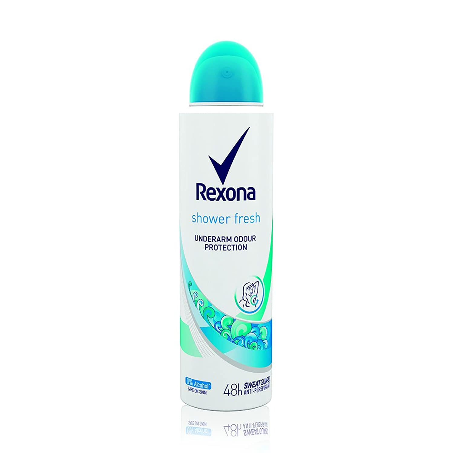 スーパーマーケット寛容な自然Rexona Women Shower Fresh Deodorant, 150ml