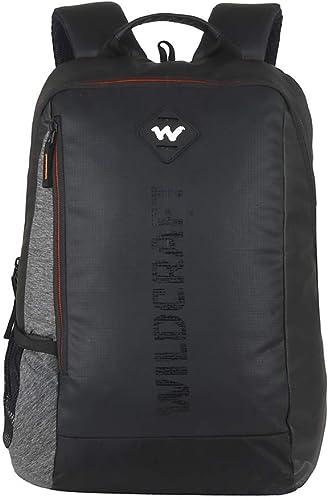 Wildcraft Work Packs'18 21 Ltrs Black Laptop Backpack (Streak Plus)