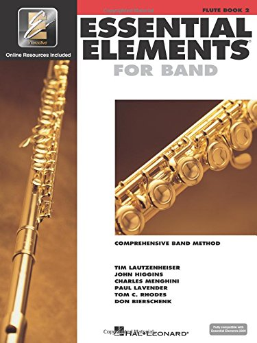 Essential Elements for Band - Book 2 with EEi: Flute (Essential Elements 2000 Comprehensive Band Method)