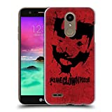 Head Case Designs Officiel Insane Clown Posse Shaggy 2 Dope Facepaint Art Clé Coque Dure pour l'arrière Compatible avec LG K10 /...
