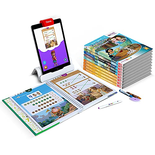 BYJU'S Magic Workbooks: Disney, Pre-K Premium Kit - Preschool/ Early Learning - Ages 3-5 - Featuring Disney & Pixar Characters - Learn Numbers, Letters, Shapes & Colors-Powered by Osmo-Works with iPad
